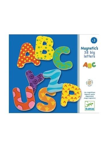 Djeco Djeco Mıknatıslı Oyunlar / 38 Big Letters Pembe